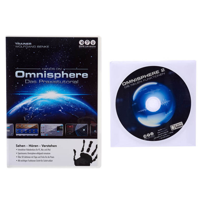 DVD Lernkurs Hands On Omnisphere 2 Bundle