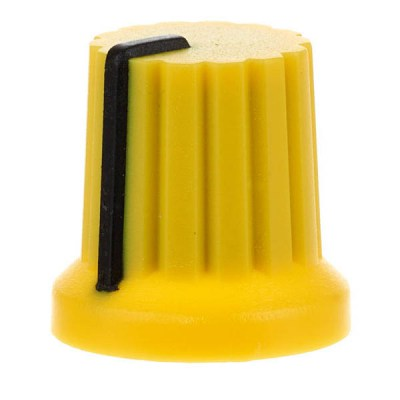 Doepfer A-100 Rotary Knob Yellow
