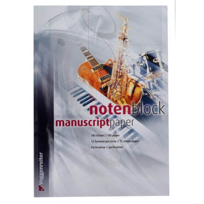 Voggenreiter Note Pad 192 Pages