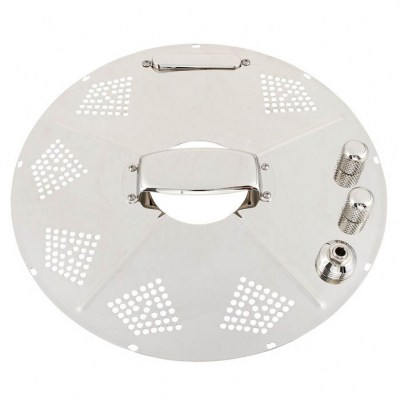 National Reso-Phonic Hot Plate Bright Nickel