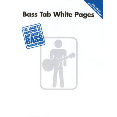 Hal Leonard Bass Tab White Pages