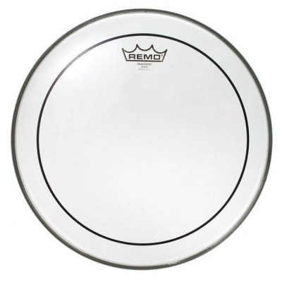 "Remo 14"" Pinstripe clear"