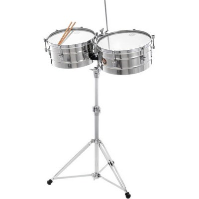 LP 256-S Timbales Set Steel