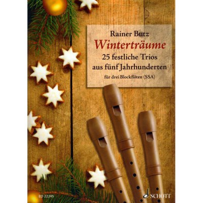 Schott Wintertraume (Recorder SSA)