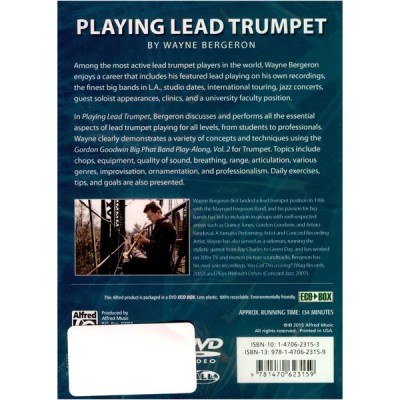 Alfred Music Publishing Playing Lead Trumpet