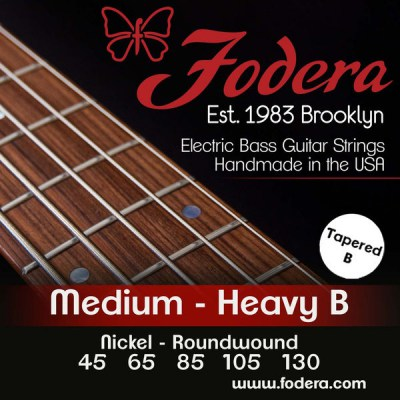 Fodera 5-String Set Medium Nickel TB