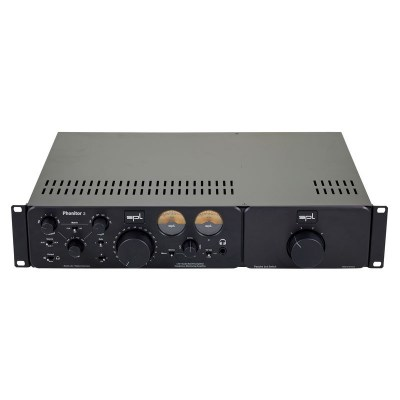 SPL Phonitor 2 Black + Exp. Rack