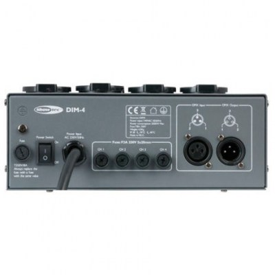 Showtec DIM-4 4-Ch. Dimmer/Switcher