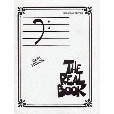 Hal Leonard Real Book Bass European