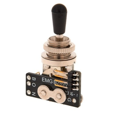 EMG 3 Pos Toggle Switch BK