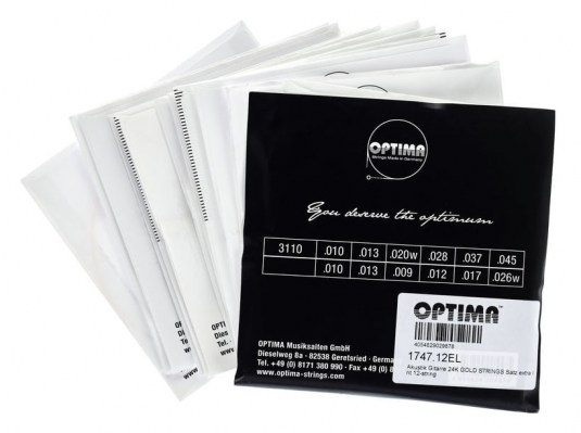 Optima 1747-12 EL 12 String Set