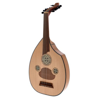 Saz TF1C Turkish Flat Oud Chestnut