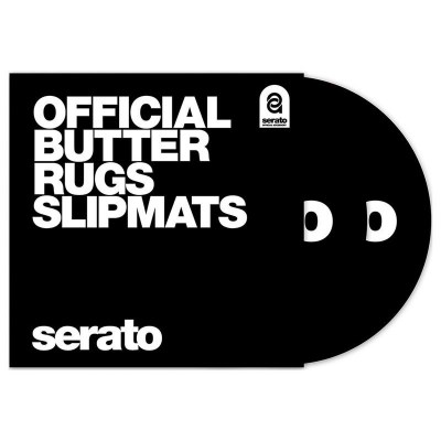 "Serato Butter Rugs 12""Slipmat Black"
