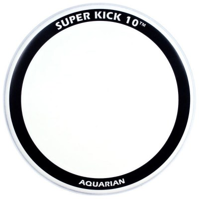 "Aquarian 22"" Superkick Ten Coated"