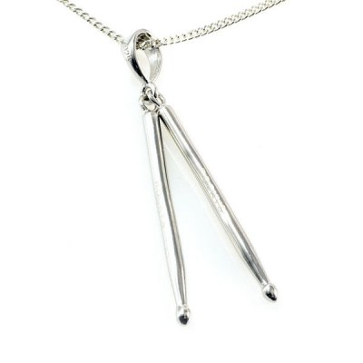 Rockys Necklace with Drum Sticks