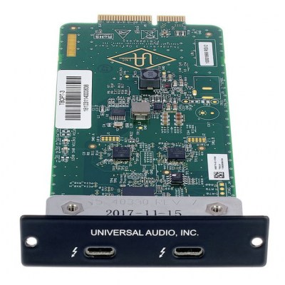 Universal Audio Apollo Thunderbolt 3 Card