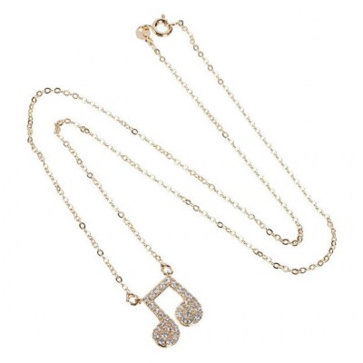A-Gift-Republic Necklace with Eighth Note