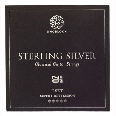 Knobloch Strings Pure Sterling Silver Nylon 600