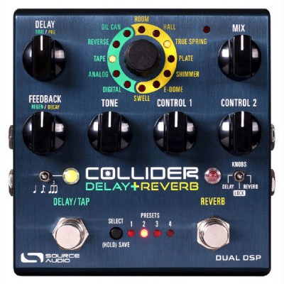 Source Audio SA 263 Collider Delay+ Reverb