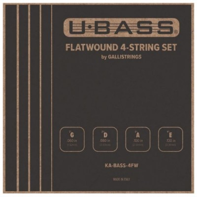 Kala U-Bass Flatwound 4-String Set