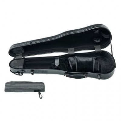 Roth & Junius Violin Shaped Case Polycarb BK