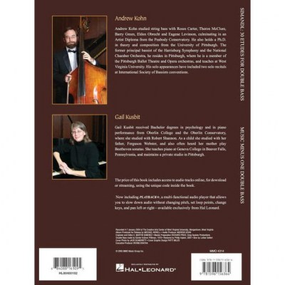 Music Minus One Simandl 30 Etudes Double Bass