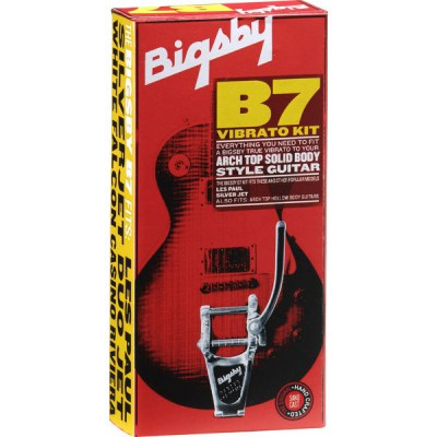 Bigsby B-7 Kit Arch Top Solid Body