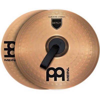 "Meinl 14"" Bronce Marching Cymbal"