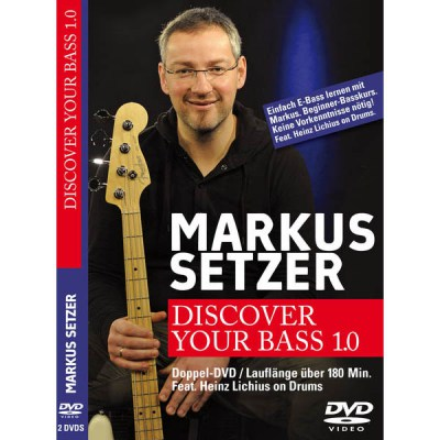 Markus Setzer Discover Your Bass 1.0 DVD