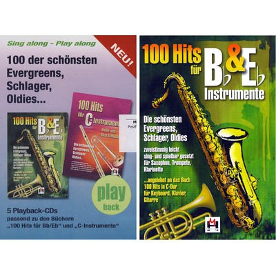 Hildner 100 Hits for Bb & Eb Vol.1 Set