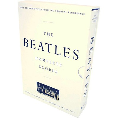 Music Sales The Beatles Complete Scores