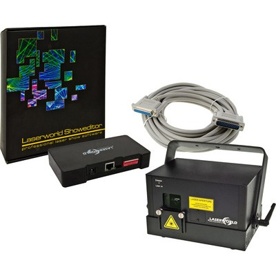 Laserworld DS-1800 RGB Bundle