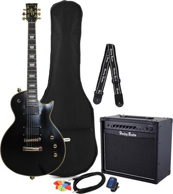 Harley Benton SC-Custom Active VB Bundle