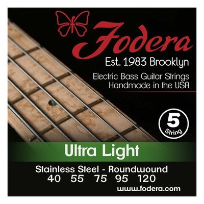 Fodera 5-String Set Ultralight SS XL