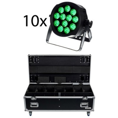 Varytec LED Typhoon True PAR 12 Bundle