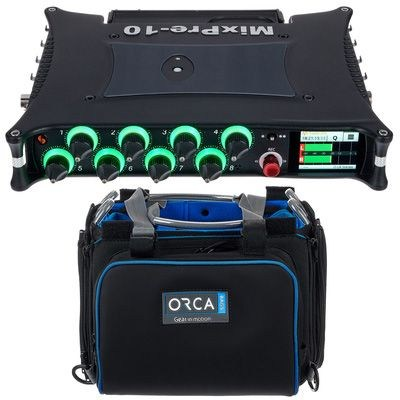 Sound Devices MixPre-10 II Orca Bag Bundle