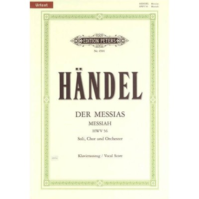 C.F. Peters Handel Der Messias HWV56