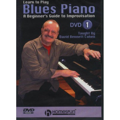 Homespun Learn to Play Blues Piano 1