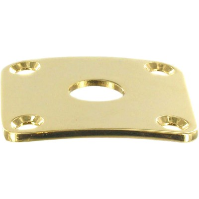 Harley Benton Parts SC-Style Jack Plate GD