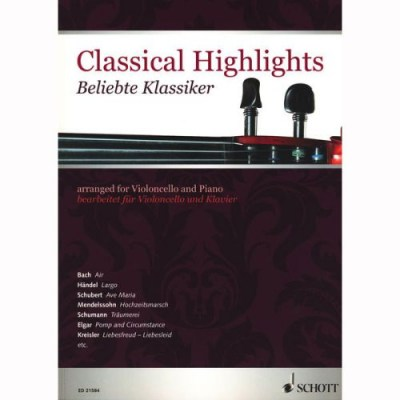 Schott Classical Highlights Cello