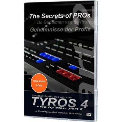 Yamaha Tyros 4 Video DVD Teil 2