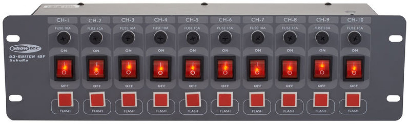 Showtec DJ Switch 10-F