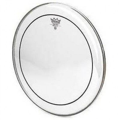 "Remo 13"" Pinstripe clear"