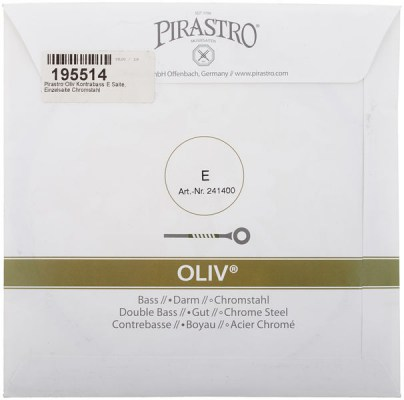 Pirastro Oliv E Double Bass 4/4-3/4