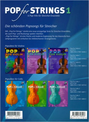 Schott Pop For Strings Vol.1