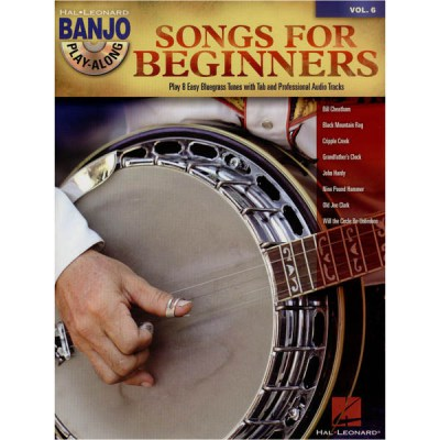 Hal Leonard Banjo Play-Along: Songs f.Beg.