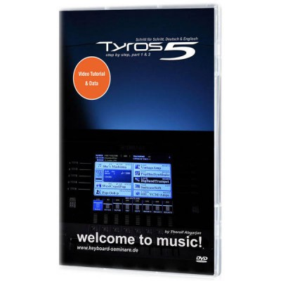 Yamaha Tyros 5 Video DVD
