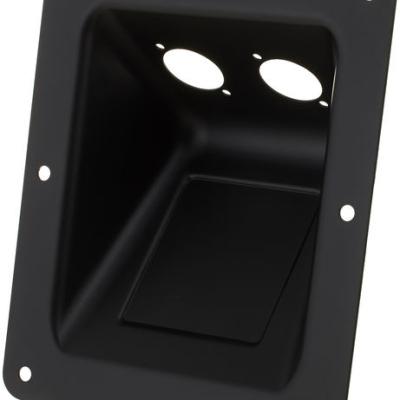 Adam Hall 87160 Dish D-Type Sockets blk